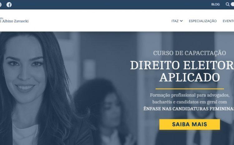 Instituto Teori Zavascki lança curso para incentivar candidaturas femininas nas eleições