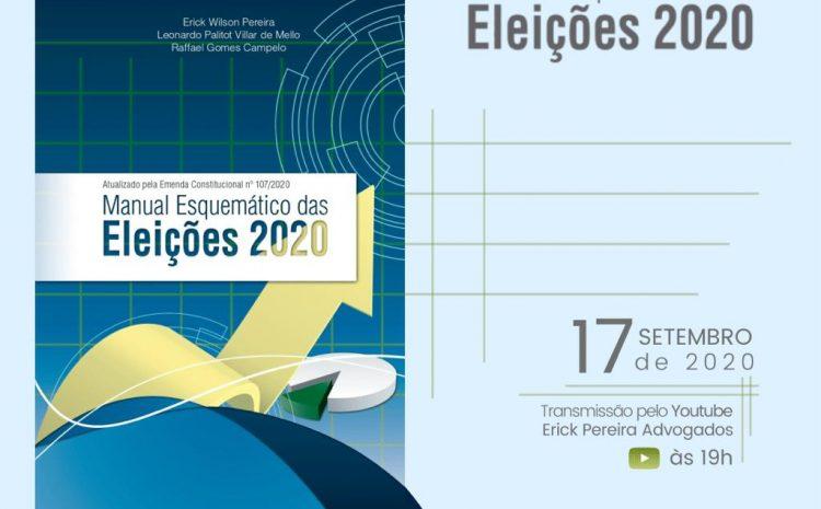 Nova edição do Manual Esquemático das Eleições será lançada nesta quinta (17)