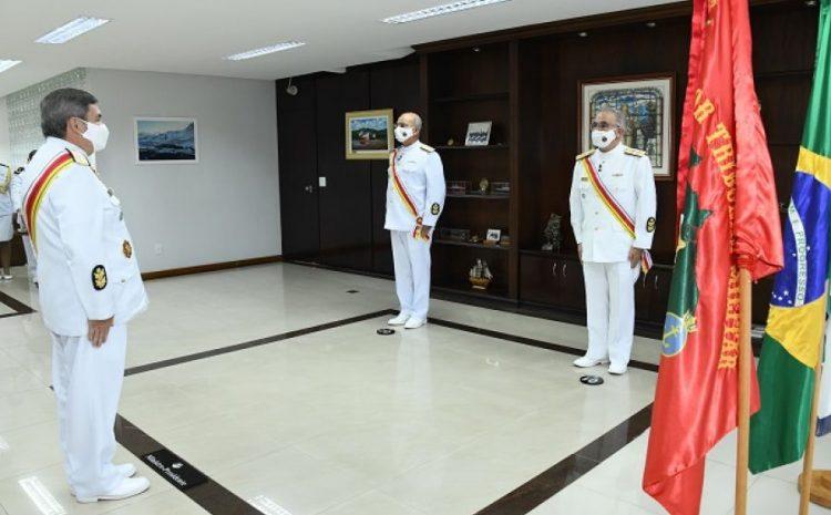 Dois novos ministros assumem as cadeiras reservadas à Marinha do Brasil no STM