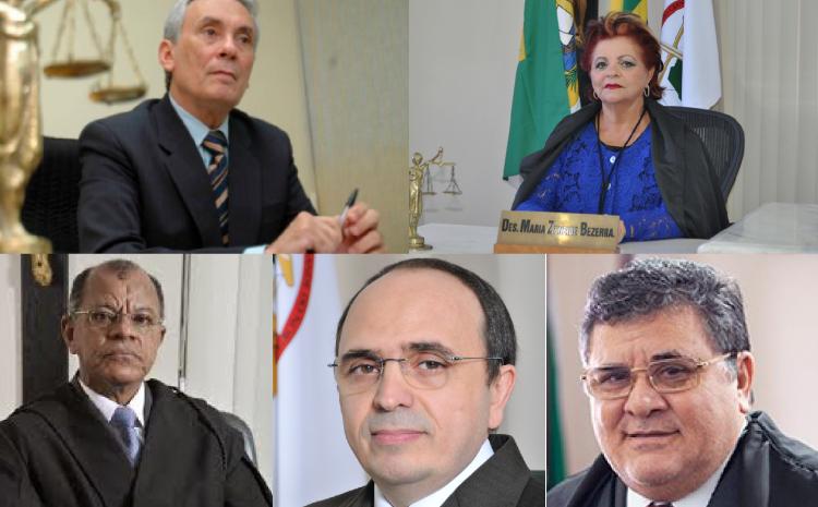 TJ-RN: novos dirigentes são eleitos. Vivaldo Pinheiro será o novo presidente