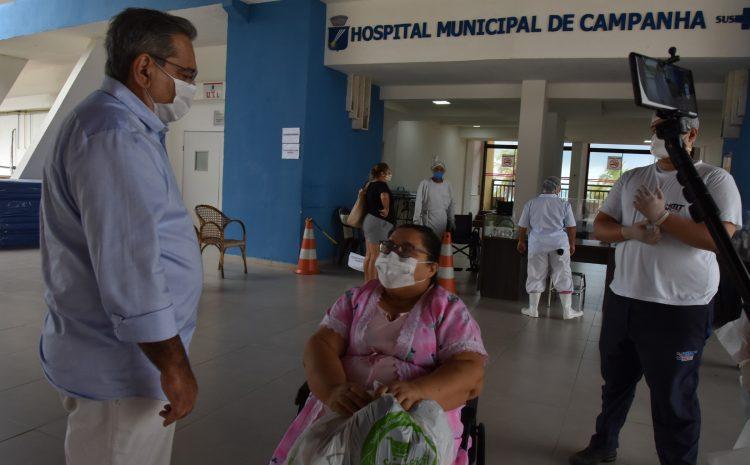 Hospital de Campanha de Natal completa um ano e registra mais de 1.600 altas
