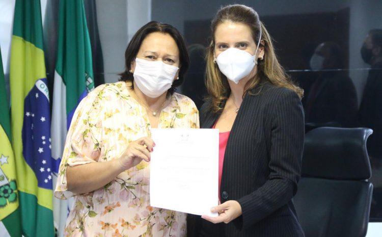 Promotora Elaine Cardoso é nomeada procuradora-geral de Justiça do MP-RN