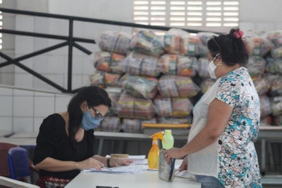 Prefeitura alcança marca de 18.523 cestas da Merenda no Lar em apenas seis dias de distribuição