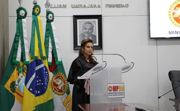 Primeira mulher a comandar o MP-RN promete gestão transparente e firme