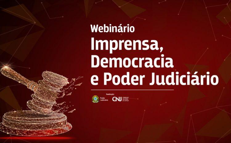 Juristas vão debater sobre evolução da liberdade de imprensa e democracia