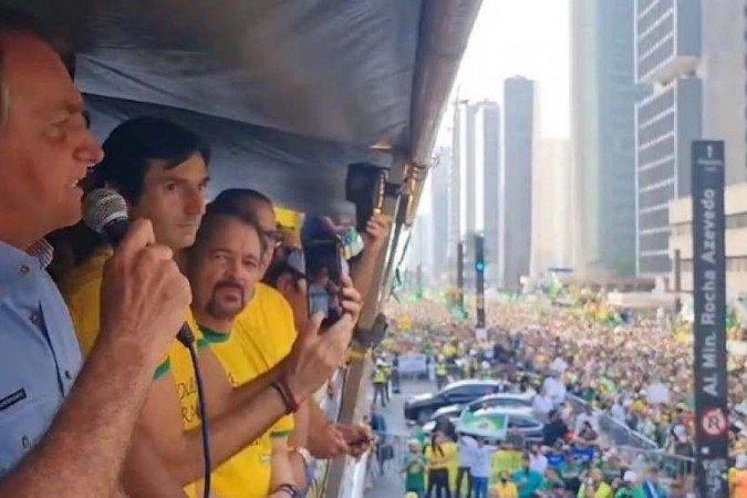 Em SP, Bolsonaro volta a atacar STF e diz que não cumprirá decisões de Moraes