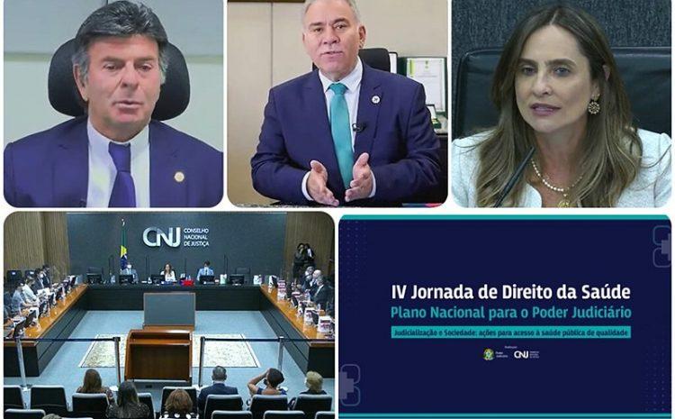 Fux defende atuação coordenada para enfrentar judicialização da saúde