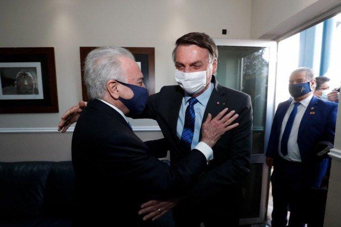 Após encontro com Temer, Bolsonaro diz que ofensas ao STF ocorreram no calor do momento