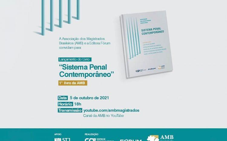 AMB e CPJ lançam livro 'Sistema Penal Contemporâneo', com coletânea de artigos acadêmicos