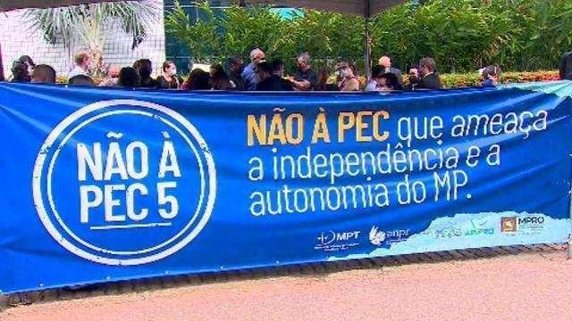 Ministério Público protesta contra PEC 5 em Brasília, hoje, às 9h